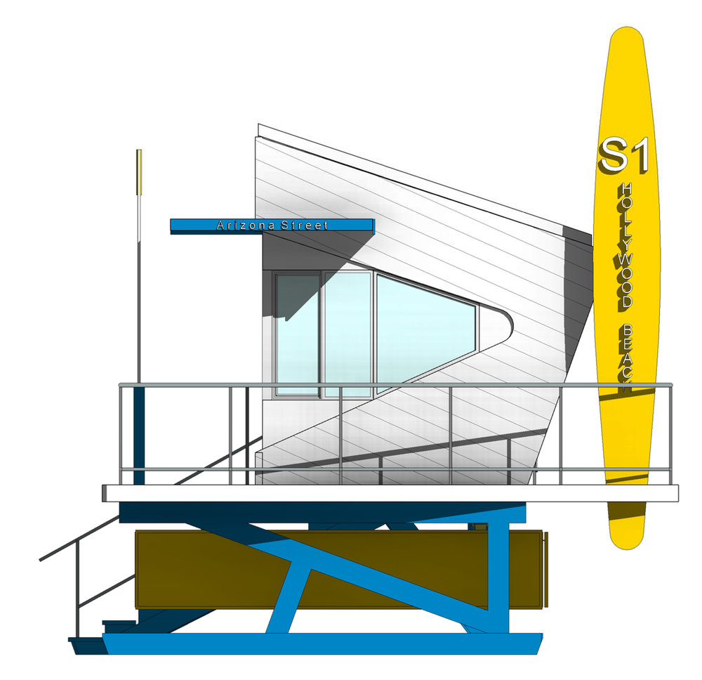 Z:CPZ Architects2016 Project Files1647 Hollywood Life Guard S