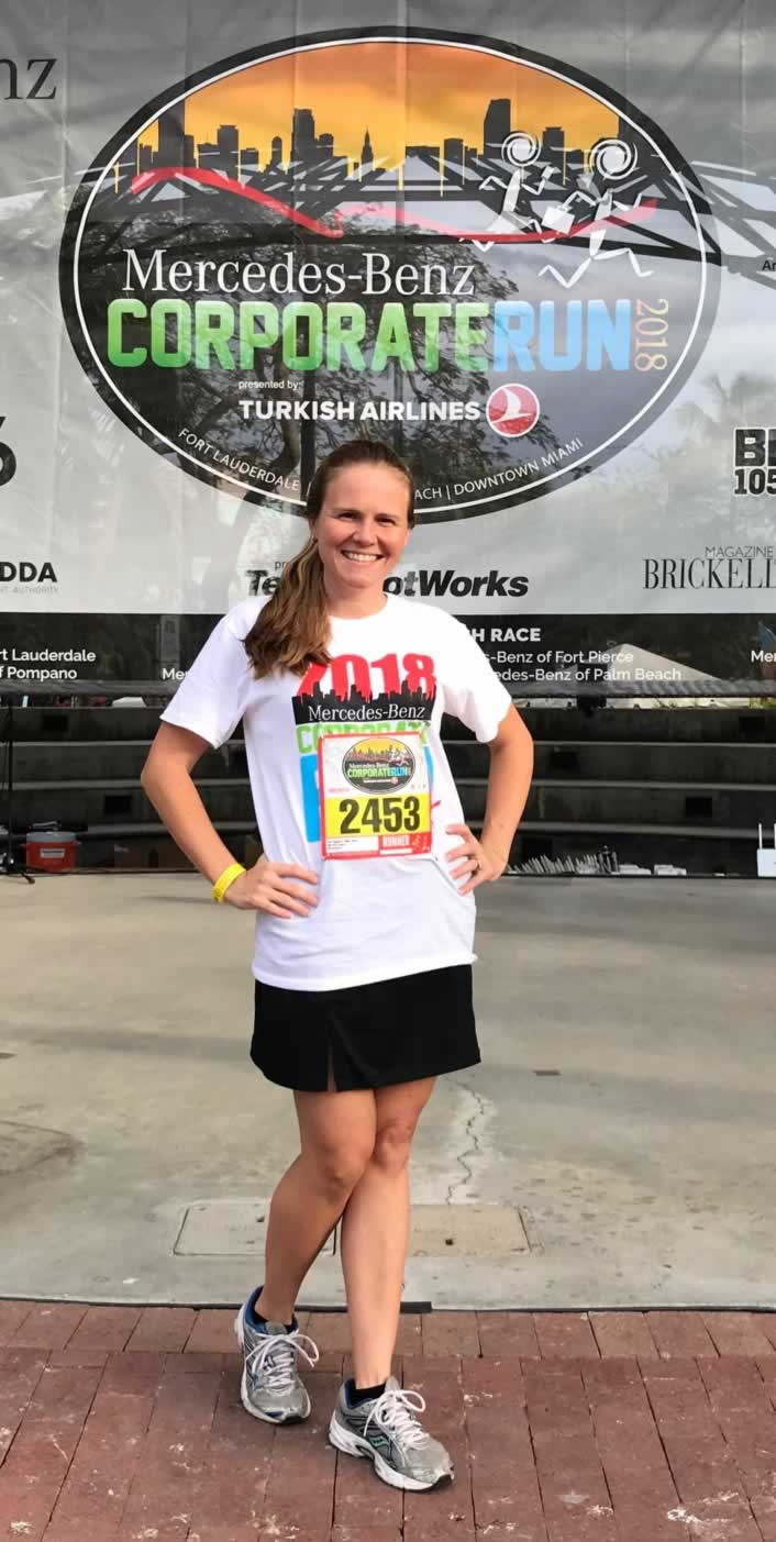 2018 corporate run organizor -Kate